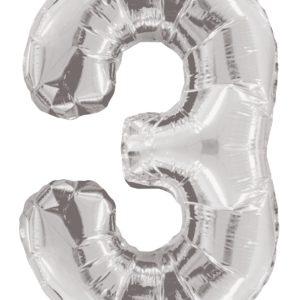 Numero 3 Plata 34″