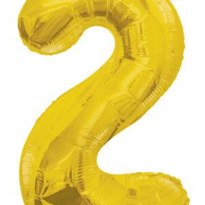 Numero 2 Dorado 34″
