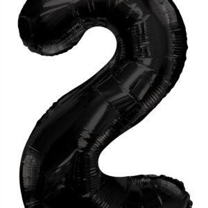 Numero 2 Negro 34″