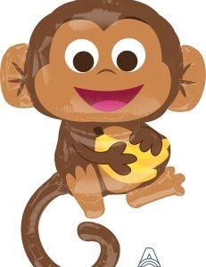 Foil Monkey – Mono – 36″ Anagram