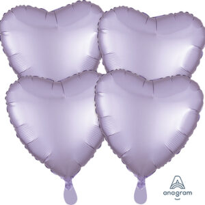 Corazon satin luxe color lila – lilac 18″ – 4ud