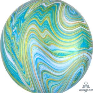 Orbz Marblez Verde y Azul