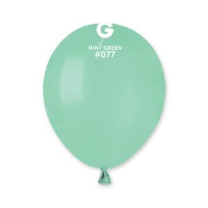A50 #077  5″ Mint Green – Verde menta