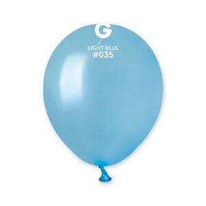 AM50 #035 5″ Light Blue- Azul claro metalizado