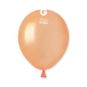 AM50 #061 5″ Peach – Durazno metalizado