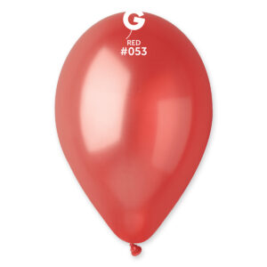 GM110 #053 12″ Red- Rojo metalizado