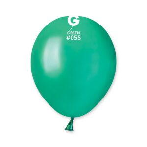 AM50 #055 5″ Green- Verde metalizado