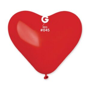CR10:#045 Corazón rojo estandar 10″