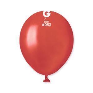 AM50 #053 5″ Red- Rojo metalizado