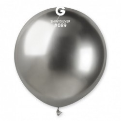 GB150 Shiny Silver – Plateado Cromado 19 Pulgadas