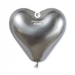 CRB120 Shiny corazon #089 silver – plateado cromado