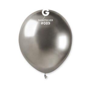 AB50: #089 Shiny Silver 5 Pulgadas